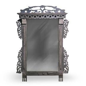 PORTAL Azhur наличник-зеркало с подсветкой.