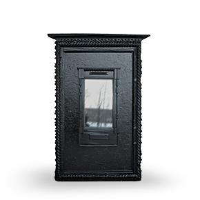 PORTAL deep black IN наличник-зеркало.