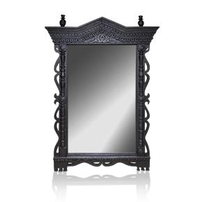 PORTAL deep black GRACH наличник-зеркало.